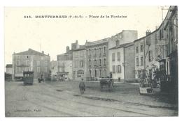 MONTFERRAND (63, Puy De Dôme) Place De La Fontaine - Clermont Ferrand
