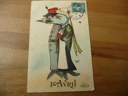 1ar Avril Illustrateur Boul - 1 De April (pescado De Abril)