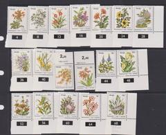 South Africa-Venda SG 5-21 1979 Flowers, Mint Never Hinged - Venda