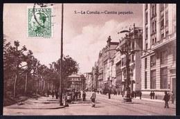 ESPAGNA - SPAIN ** LA CORUNA EL CANTON PEQUENO ** Sent To Belgium 1931 - La Coruña
