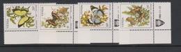 South Africa-Venda SG 34-38 1980 Butterflies, Mint Never Hinged - Venda