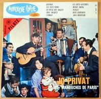 RARE LP 25 CM MANOUCHE PARTIE FAMILLE DJANGO REINHARDT JOUE AVEC JO PRIVAT- 1960 - EXC ETAT- ET MAC KAC ET MATELOT FERRE - Jazz
