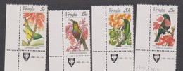 South Africa-Venda SG 38-41 1981 Sunbirds, Mint Never Hinged - Venda