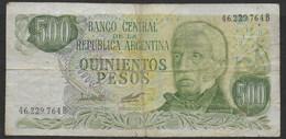 ARGENTINA, 1977-1982, 500 & 1000 Pesos. Series B+E - CIRCOLATE - Argentina