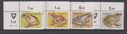 South Africa-Venda SG 67-70 1982 Frogs, Mint Never Hinged - Venda
