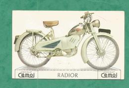 IMAGE CHOCOLAT CEMOI MOTO VINTAGE OLD MOTORCYCLE MOTO MOTOCYCLETTE CARD RADIOR - Chocolat