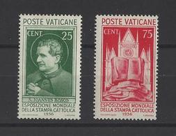 VATICAN.  YT  N° 74/76  Neuf * 1936  (voir Détail) - Vatican