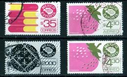 Mexique Exporta Hierroforjado, Libros, Fresas (2 Samples) - Mexique