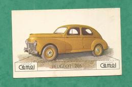 IMAGE CHOCOLAT CEMOI AUTO VOITURE VINTAGE WAGEN OLD CAR CARD  PEUGEOT 203 - Chocolat
