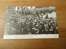Saint Nazaire Prisonniers Allemands Embarquant Pour L'Angleterre - Guerra 1914-18