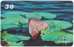 BRASIL I-012 Magnetic Telemar - Plant, Flower, Waterlily - Used - Brasilien