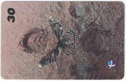 BRASIL I-014 Magnetic Telemar - Animal, Butterfly - Used - Brasilien
