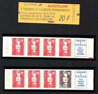 FRANCE 1993 MARIANNE DE BRIAT CARNET YT N° 1503 Date à Gauche (avec N° 2807a Et 2824b) - 1989-96 Marianne Du Bicentenaire