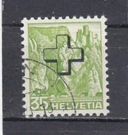 Suisse - N° YT 157 - Obl. - Année 1938  - Paysage - Servizio