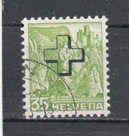 Suisse - N° YT 157 - Obl. - Année 1938  - Paysage - Service