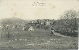 En Auvergne,Salers-Vue Generale - France