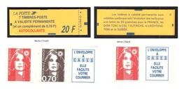 FRANCE 1993 MARIANNE DE BRIAT CARNET YT N° 1504 (avec N° 2807a Et 2824b) - 1989-96 Marianne Du Bicentenaire