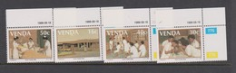 South Africa-Venda SG 175-178 1988 5th Anniversary Nurses Training College, Mint Never Hinged - Venda