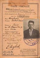 Carte D Identité, Pension De Guerre, Paris XIIeme, 1921     (bon Etat) - Cartes