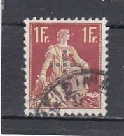 Suisse - N° YT 120 - Obl. - Année 1935-37  - Perforé - Officials