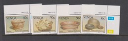 South Africa-Venda SG 183-186 1989 Traditional Kitchenware, Mint Never Hinged - Venda
