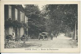 Cadix(Tarn),Route De Puylaurens - France