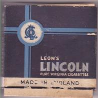 étui Cigarettes Leon's Lincoln - Contenitori Di Tabacco (vuoti)