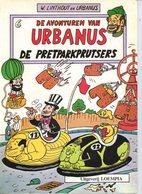 Urbanus 6 - De Pretparkprutsers (2de Druk) 1984 - Urbanus