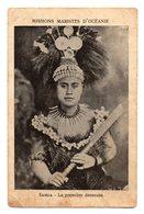 SAMOA - La Première Danseuse - Missions Maristes D'Océanie . - Samoa