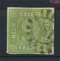 Bavière 5 Exemplaire Normal Oblitéré 1851 Paragraphe Dans District (9158191 (9158191 - Beieren
