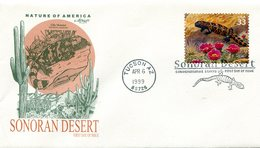 UNITED STATES 1999 FDC With LIZARD.BARGAIN.!! - Andere