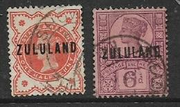 South Africa, Zululand, 1/2d, 6d, Used - Zululand (1888-1902)