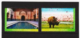 ORY301 VEREINTE NATIONEN UNO WIEN 2012 Michl 756/57 ** Postfrisch SIEHE ABBILDUNG - Wien - Internationales Zentrum