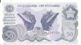 YOUGOSLAVIE 50 DINARA 1990 UNC P 101 - Yugoslavia