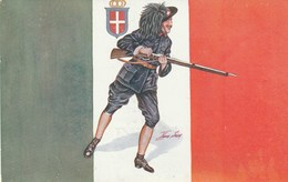 Sager - Les Drapeaux Alliés - Italie - Pub Wellcome - Sager, Xavier