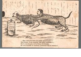 Cpa Illustrateur Humour Satirique A.Duchene Politique Rats Humanisés Indemnité Parlementaire ...  Déstockage à Saisir - Sátiras