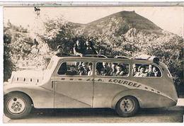 65.. LOURDES  Autobus Carte Photo    Hp237 - Lourdes