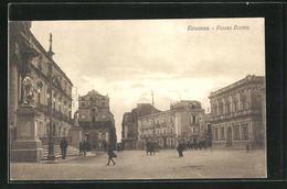 Cartolina Siracusa, Blick Auf Die Piazza Duomo - Siracusa