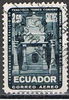 (EQ 53) ECUADOR // YVERT 272 POSTE AERIENNE //1954 - Equateur