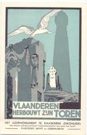 PK - Vlaanderen Herbouwt Zijn Toren - Ijzermonument Te Kaaskerke Diksmuide - AVV -  VVK - Evénements
