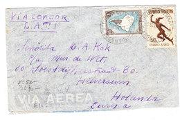 Argentina CONDOR LATI AIRMAIL CENSORED COVER TO Netherlands 1941 - Posta Aerea