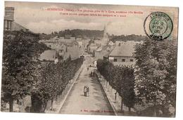 AUBENTON VUE GENERALE PRISE DE LA GARE  ANIMEE - Other Municipalities