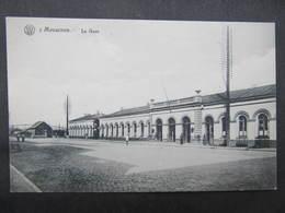 AK MOUSCRON Ca.1915 La Gare Bahnhof // D*38119 - Mouscron - Moeskroen