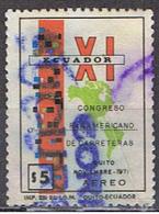(EQ 60) ECUADOR // YVERT 534 POSTE AERIENNE //1970 - Equateur