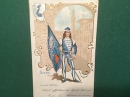 Cartolina Siena - Contrada Dell'Onda - 1901 - Cartoline