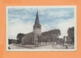 CPA -   Laversines  - (Oise) - Place De L'église  -  (  Laversine  ) - Frankreich