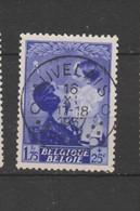 COB 453 Oblitération Centrale AUVELAIS - Belgique