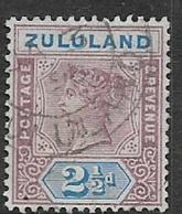 South Africa, 1894,  Zululand, 2 1/2d, , Used - Zululand (1888-1902)