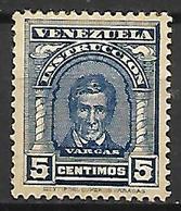 VENEZUELA    -   Fiscal-Postal    -    1911.   Y&T N° 108 * - Venezuela