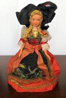 Poupée Folklorique Ancienne Région D'Alsace - Dolls